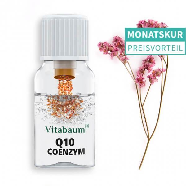 Coenzym Q10 - mit 5 B-Vitaminen & Lycopin - Monatspack
