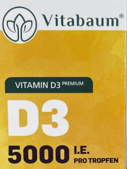 Vitamin D3 5000 I.E. Tropfen