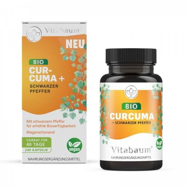 Bio Curcuma + Schwarzer Pfeffer